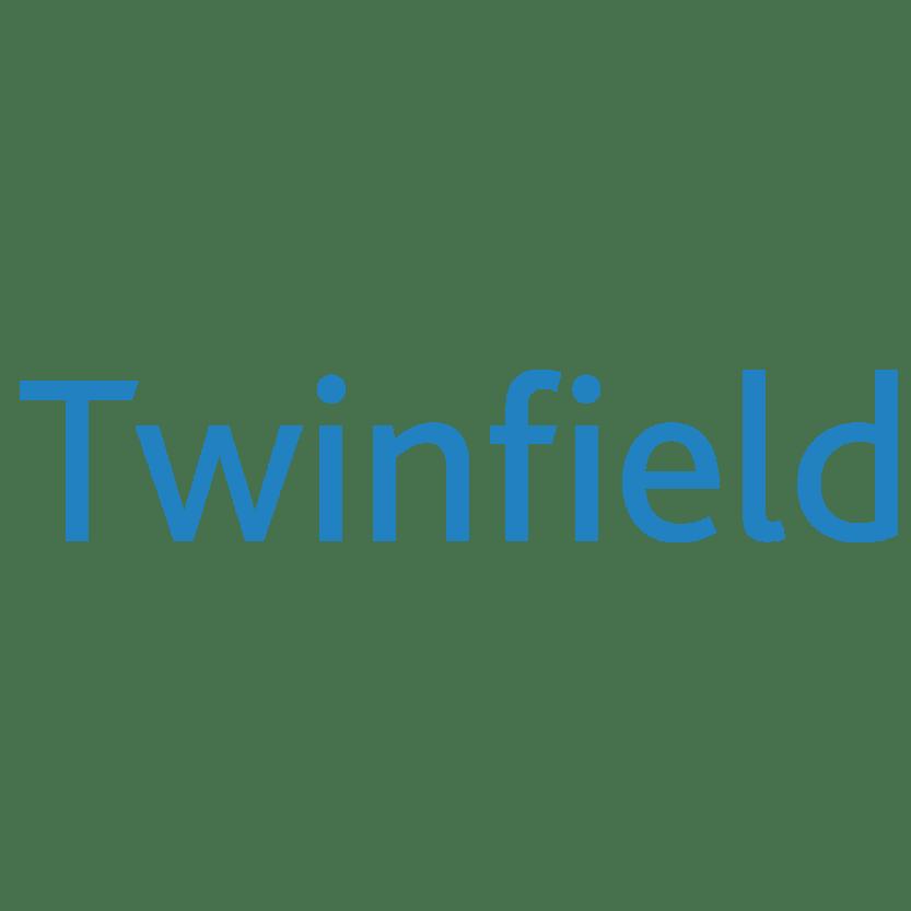 Logo Twinfield boekhoudprogramma, een bedrijf van Kluwer, integreert ook met TriFact365.