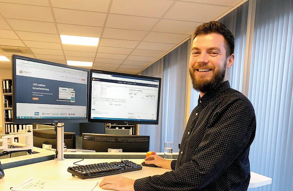 Administratiekantoor de Bruijn travaille avec le logiciel de numérisation et de reconnaissance de TrIFact365.