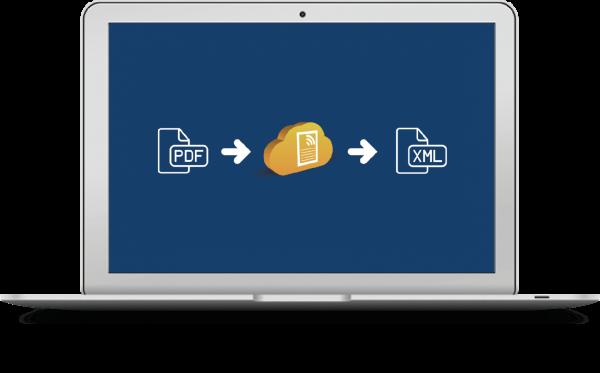 PDF naar XML of UBL API