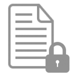 Digital document with lock for data processing agreement
