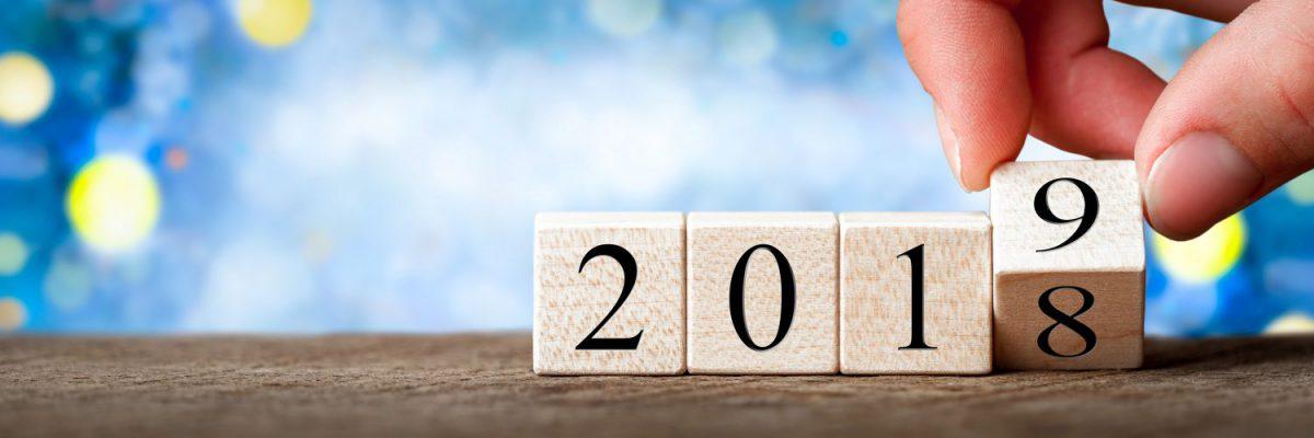 2018 naar 2019