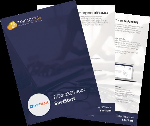 Brochure TriFact365 Scan en Herken voor SnelStart