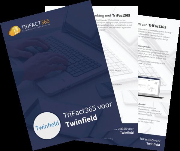 Brochure TriFact365 voor Twinfield scan en herken software