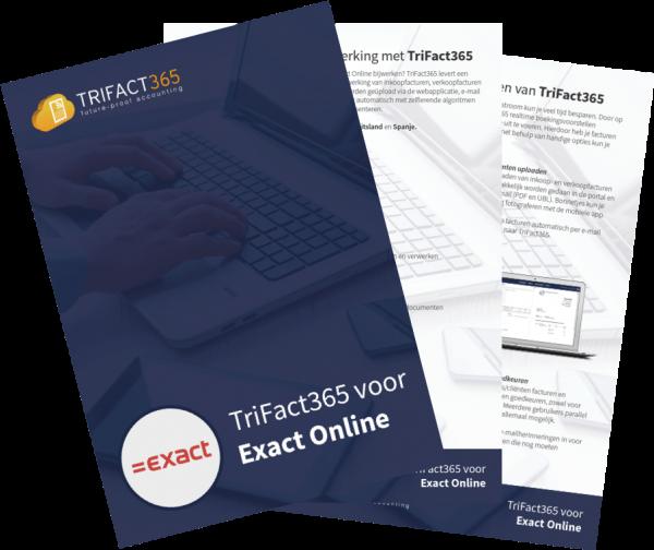 Whitepaper TriFact365 voor Exact Online Scan Herken Software