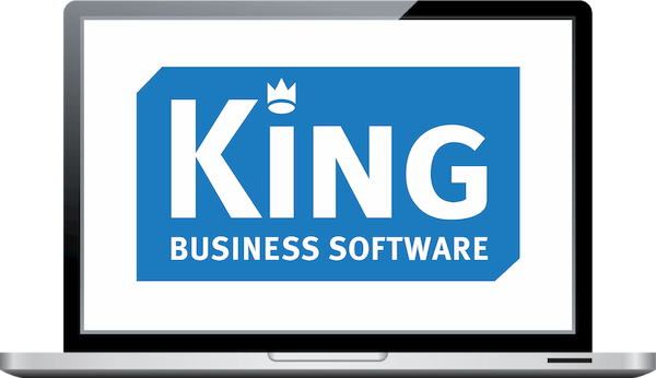 logo King Business Software voor koppeling met TriFact365 Scan & Herken