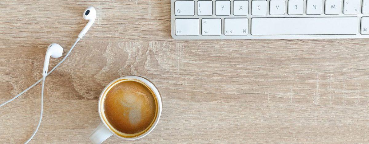 koffie toetsenbord