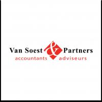 Logo Van Soest Partners Accountants Adviseurs werkt ook voor Unit4 Scan & Herken software met TrIFact365