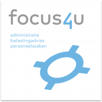 Logo Focus4U. Klant van TriFact365 en AFAS
