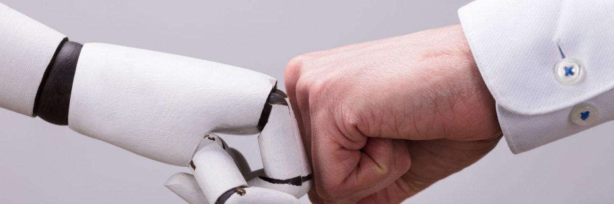 robothand vuist