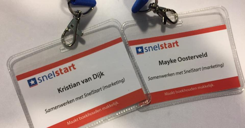 snelstart badges
