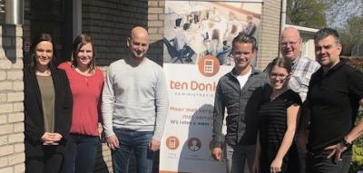 Ten Donkelaar werkt als digitaal administratiekantoor met TrIFact365 voor Accountview Scan & Herken software.