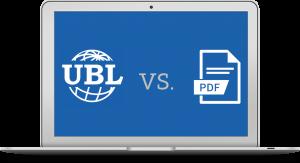 laptop met icoon ubl vs pdf