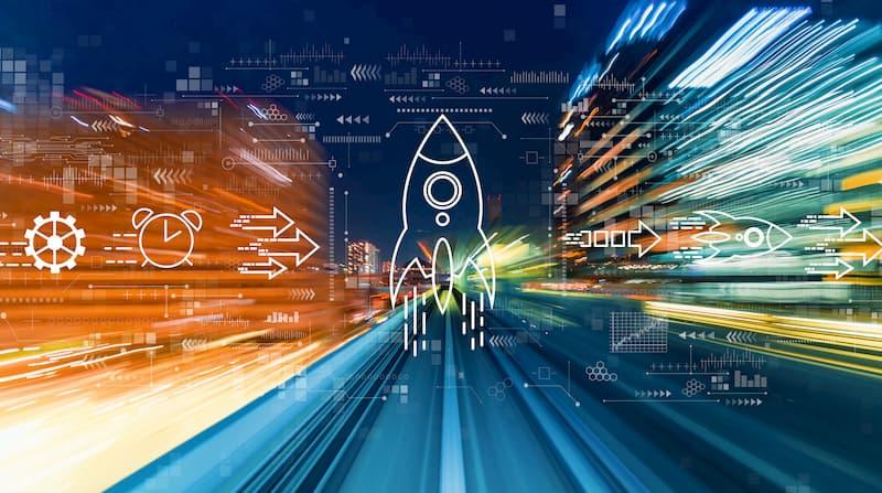 Robotic accounting met TriFact365, je eigen boekhoudrobot als een raket zo snel.