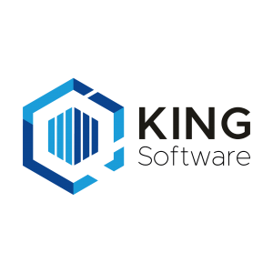 King Business Software logo, cloud software integrates with TriFact365.