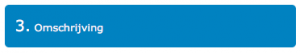 Koppelen met een boekhoudpakket: Stap 3: Omschrijving
