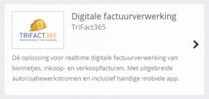 TrIFact365 Link in SnelStart Web
