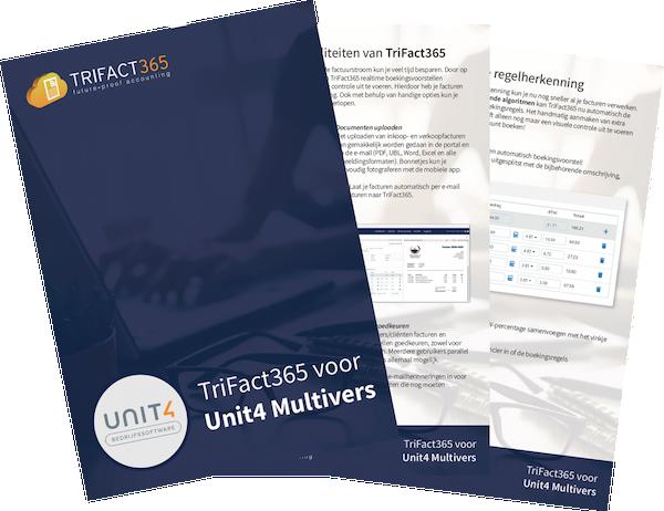 Brochure voor Unit4 Multivers Scan en Herken