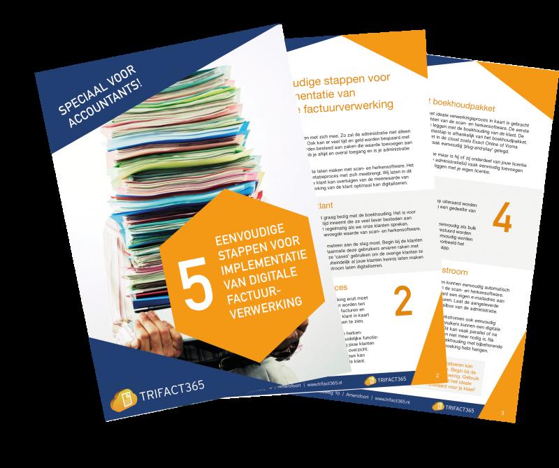 Speciaal voor accountants! 5 Eenvoudige stappen voor implementatie van digitale factuurverwerking