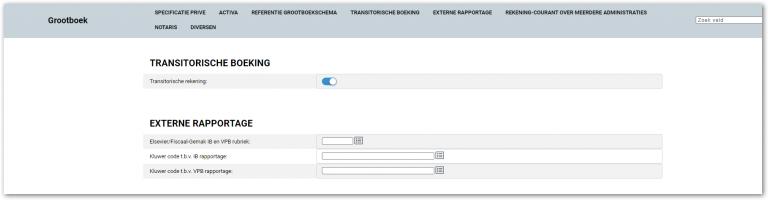 Transitorische boeking in iMUIS Online