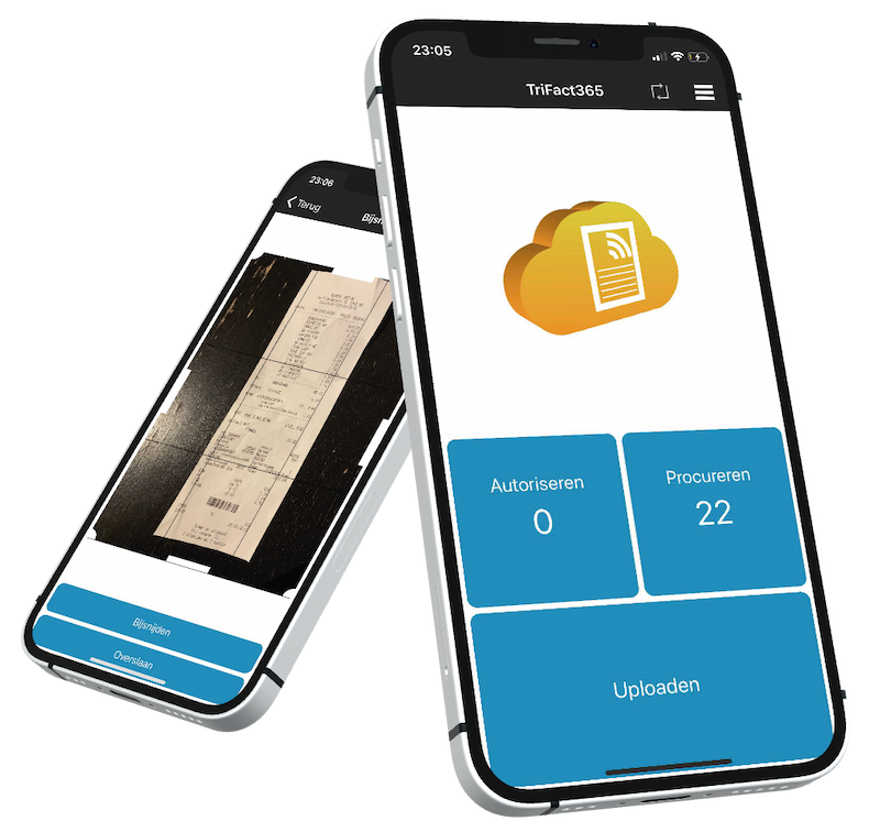 mobiele app trifact365