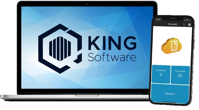 King Software is de nieuwe naam voor iMuis online en koppelt met TriFact365 Scan en Herken software.