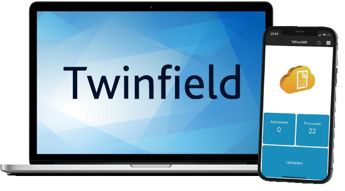 Twinfield en TriFact365 Scan en Herken app